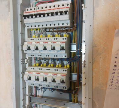 Электрика в квартире под ключ - электрощит