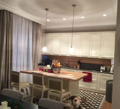 Электрика в квартире под ключ - кухня