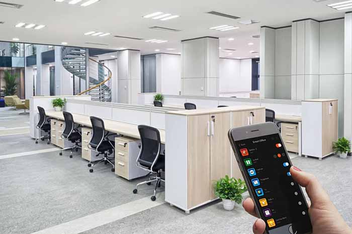 Управление освещением в офисе