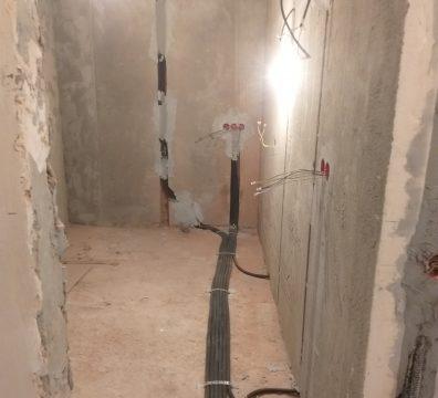 Электромонтажные работы - разводка кабеля
