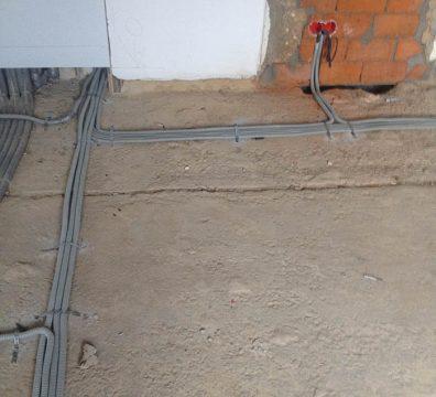 Магистрали электрики в частном доме