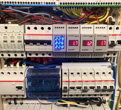 Электрика в частном доме - щит