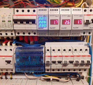 Электрика в доме - электрощит