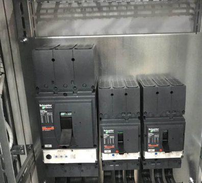 Электрика в офисе - шкаф ВРУ