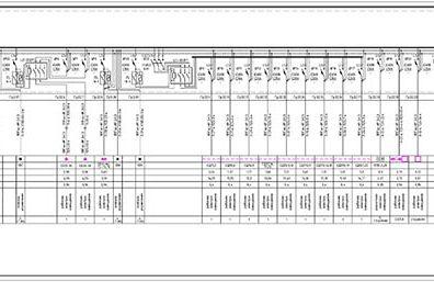Пример проекта электрики Торгового Комплекса Барвиха - лист 06