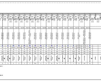 Пример проекта электрики Торгового Комплекса Барвиха - лист 09