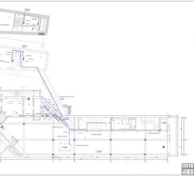 Пример проекта электрики Торгового Комплекса Барвиха - лист 16