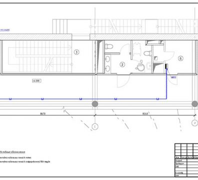 Пример проекта электрики Торгового Комплекса Барвиха - лист 18