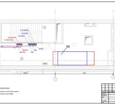 Пример проекта электрики Торгового Комплекса Барвиха - лист 19
