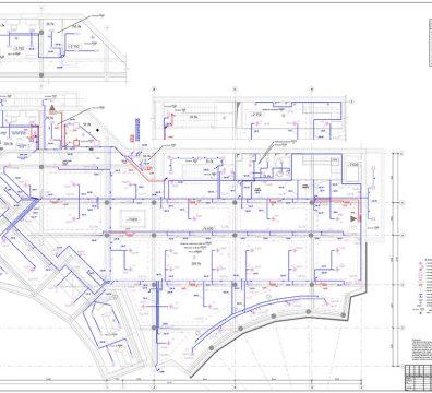 Пример проекта электрики Торгового Комплекса Барвиха - лист 20