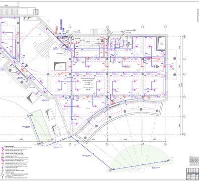 Пример проекта электрики Торгового Комплекса Барвиха - лист 21