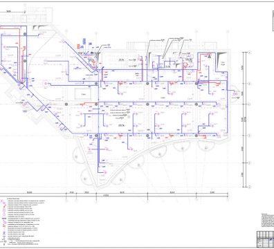 Пример проекта электрики Торгового Комплекса Барвиха - лист 22