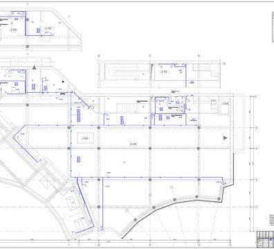 Пример проекта электрики Торгового Комплекса Барвиха - лист 23