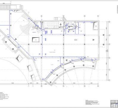 Пример проекта электрики Торгового Комплекса Барвиха - лист 24