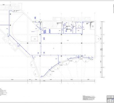 Пример проекта электрики Торгового Комплекса Барвиха - лист 25