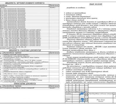 Пример проектирования электроснабжения в офисе - лист 02