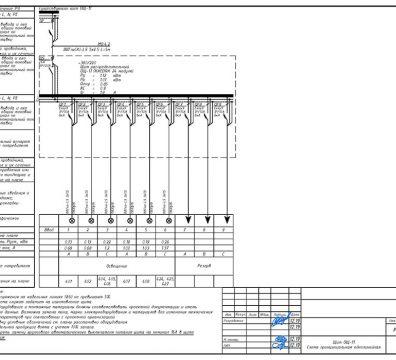 Пример проектирования электроснабжения в офисе - лист 09