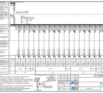 Пример проектирования электроснабжения в офисе - лист 13