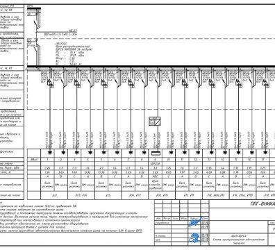 Пример проектирования электроснабжения в офисе - лист 14