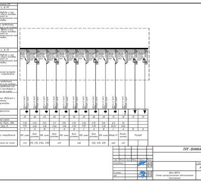 Пример проектирования электроснабжения в офисе - лист 18
