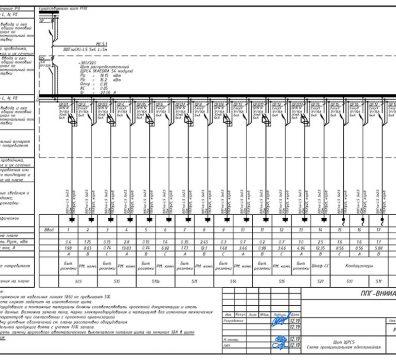 Пример проектирования электроснабжения в офисе - лист 19