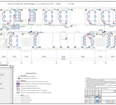 Пример проектирования электроснабжения в офисе - лист 25