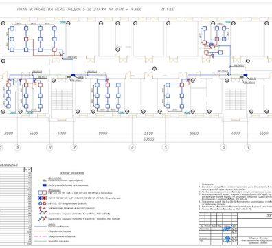 Пример проектирования электроснабжения в офисе - лист 26