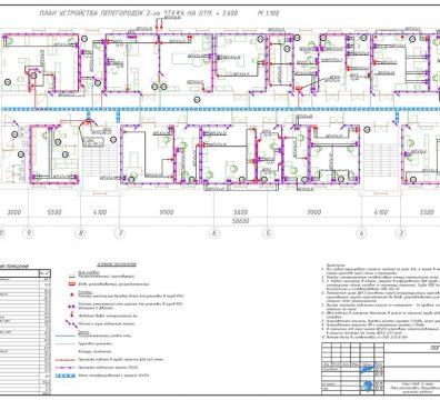 Пример проектирования электроснабжения в офисе - лист 29