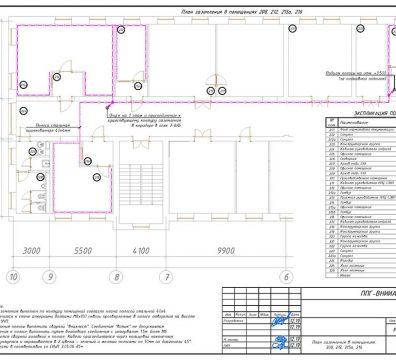 Пример проектирования электроснабжения в офисе - лист 33