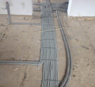 Прокладка электрики в частном доме