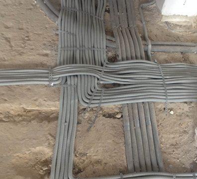Прокладка электрики в доме